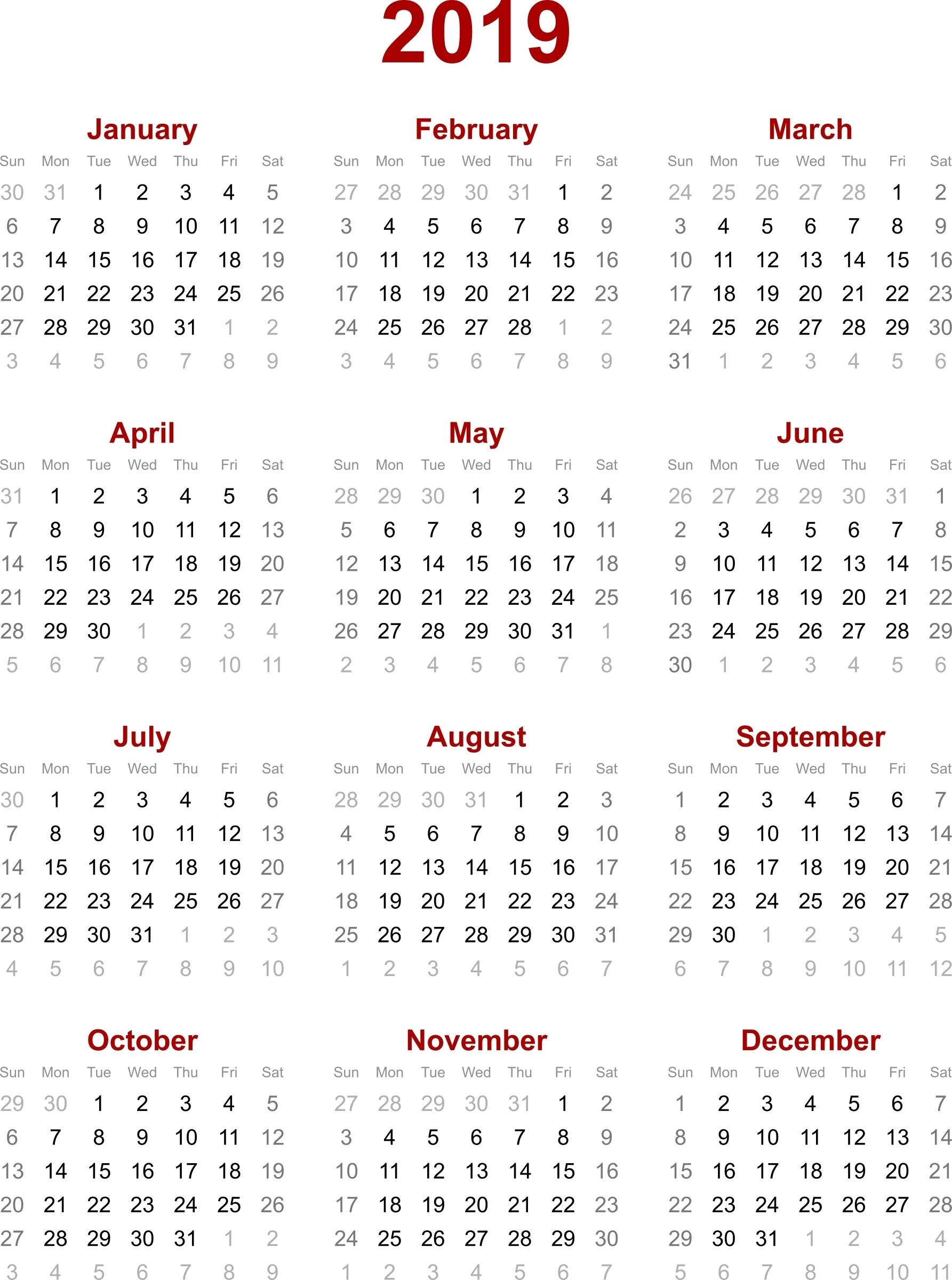 2019 February Calendar Hk Calendar Creative Printable