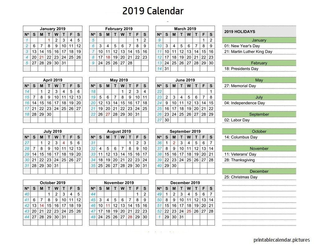 Calendar 2019 Holidays 2019 Calendar Holidays Calendar Holiday