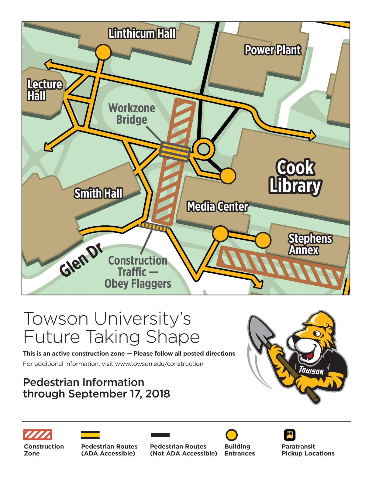 Campus Map Towson University