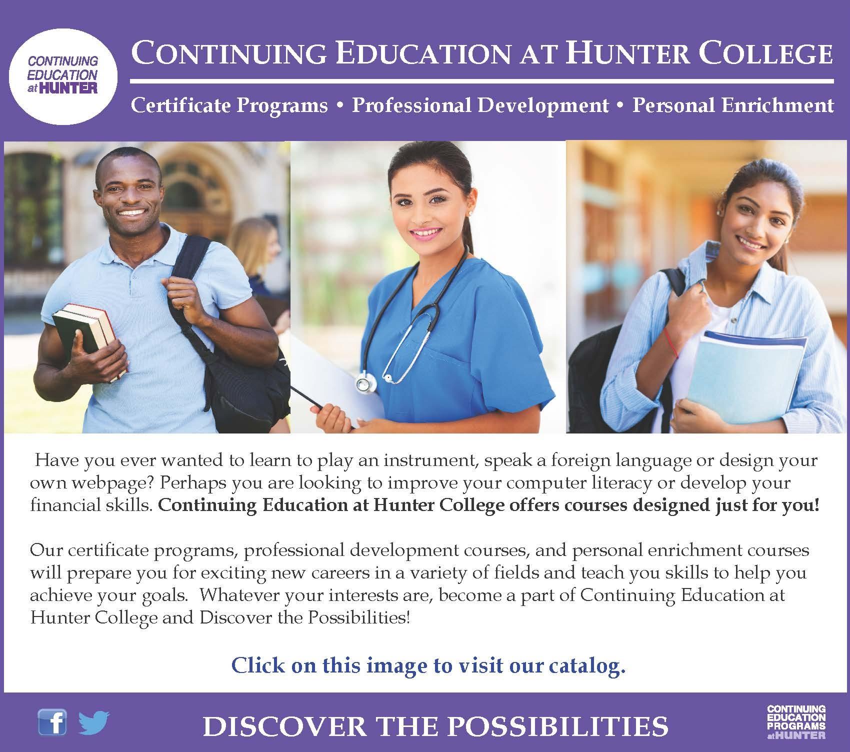 Catalog Hunter College