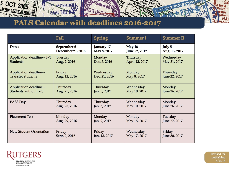 foto de Fordham Academic Calendar Qualads