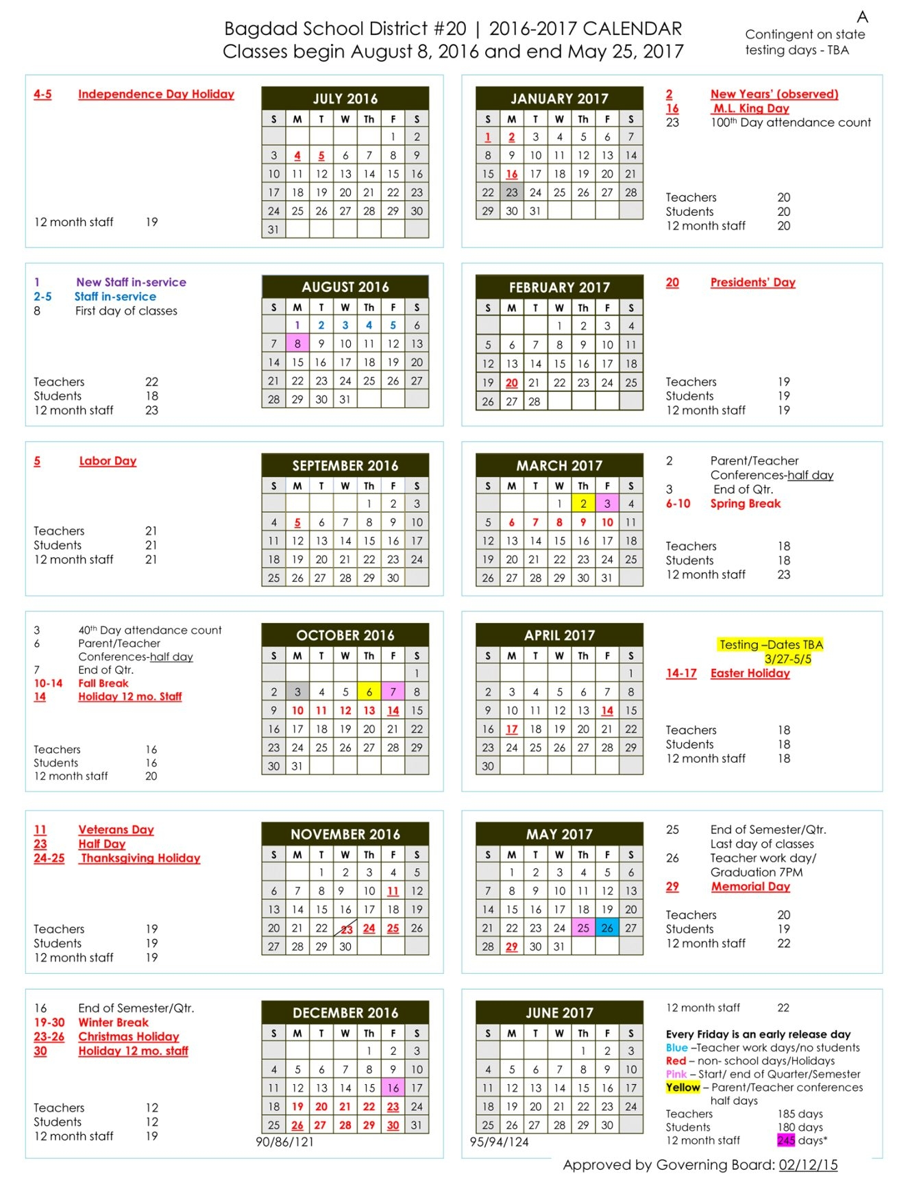 Fresno Unified School District Calendar 2019   Qualads