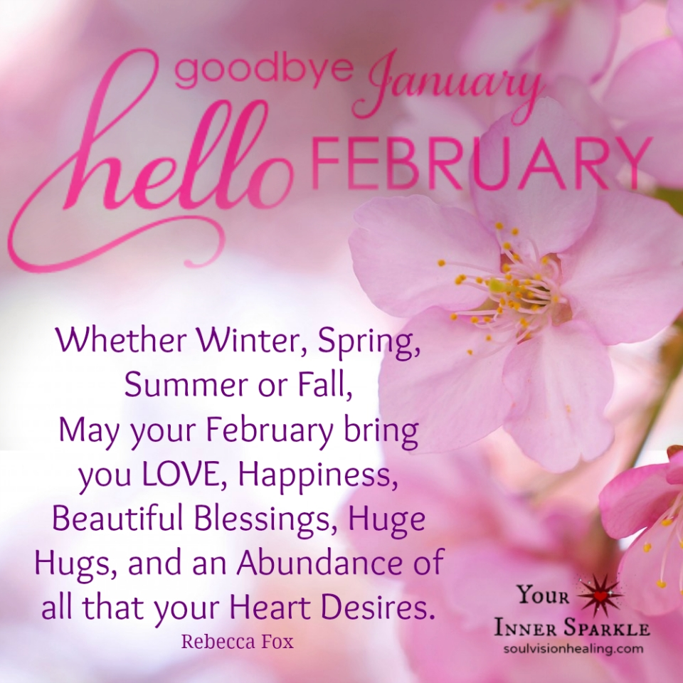 Goode January Hello February Daily Joy Pinterest February