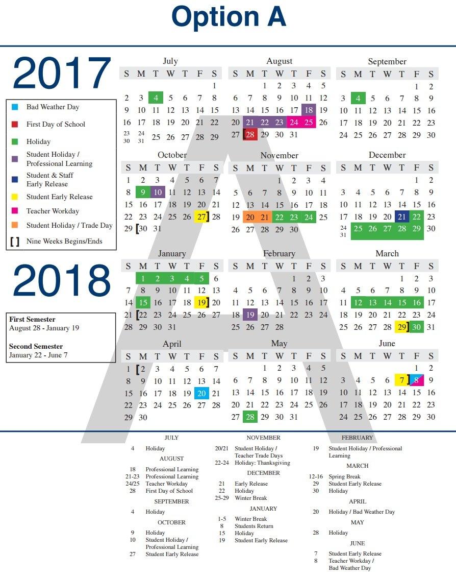 Lisd Approves 2017 18 Calendar The Cross Timbers Gazette