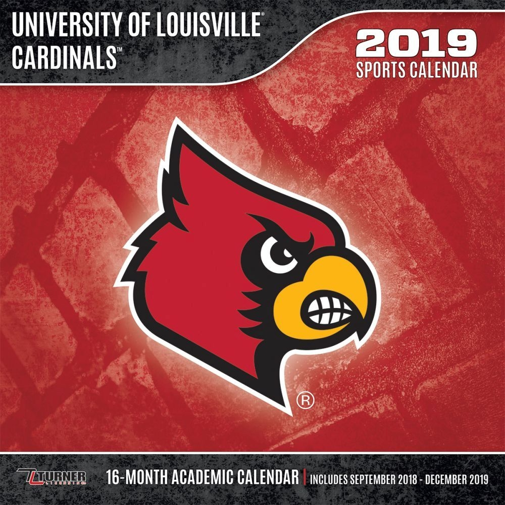 Louisville Cardinals 2019 Wall Calendar Calendars