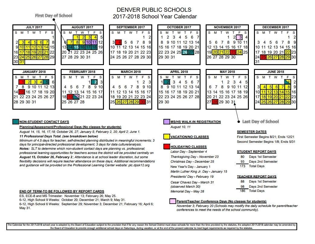 Schools Closed For Winter Break Denver Public Schools