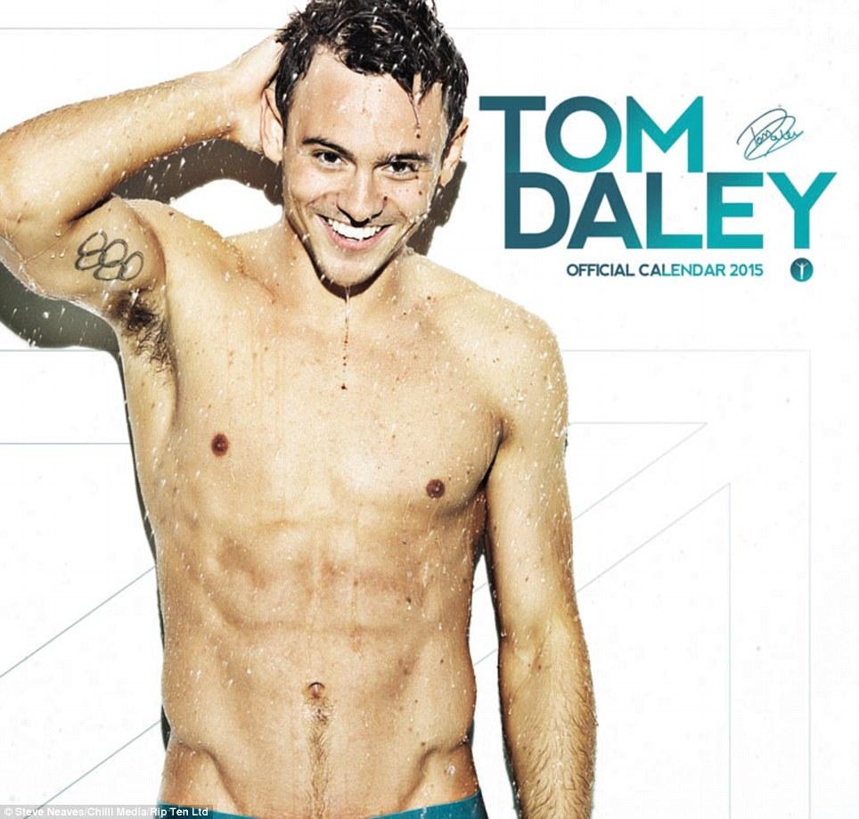 Tom Daleys New Calendar Revealed Daily Mail Online