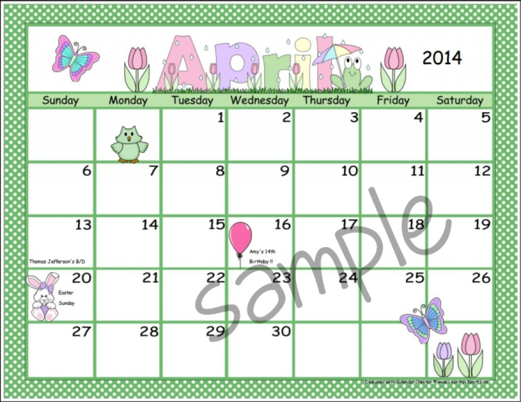 create your own printable calendar