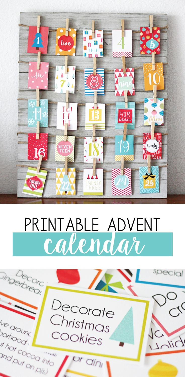 Free Printable Advent Calendar With Loads Of Fun Activities Skip