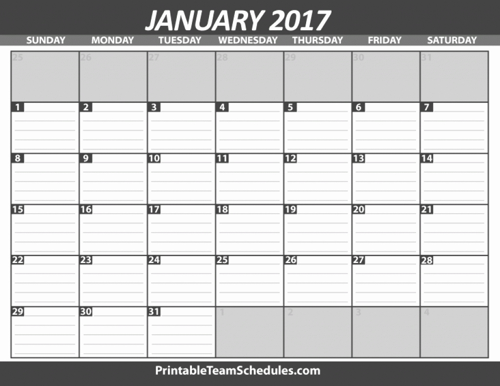Free Printable Calendar With Lines To Write On New Free Printable