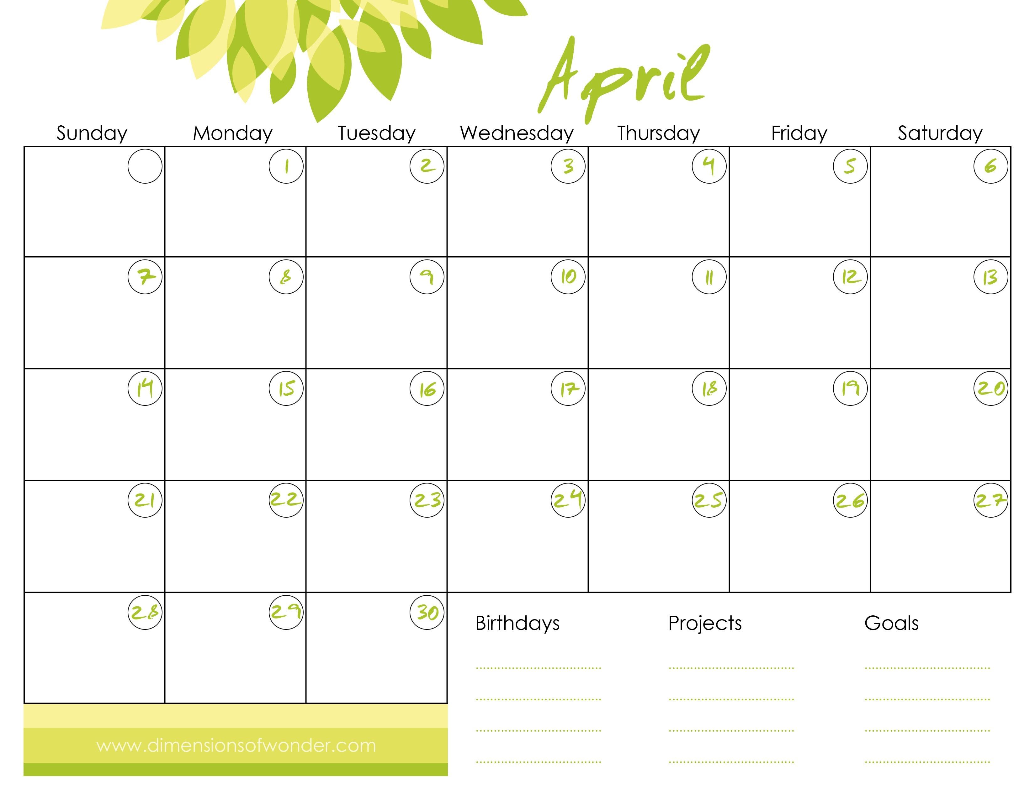 How To Make A Printable Calendar Create A Calendar Free 2017