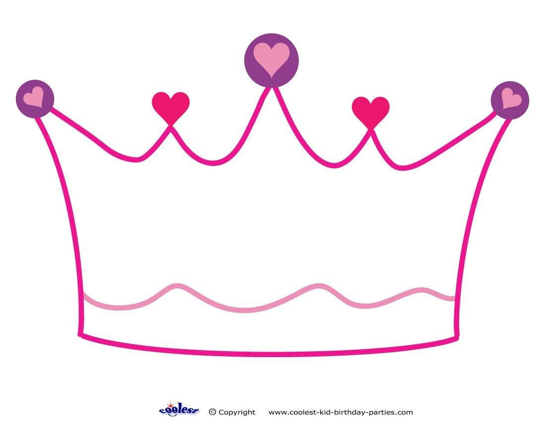 Printable Crown Decoration Coolest Free Printables Princess