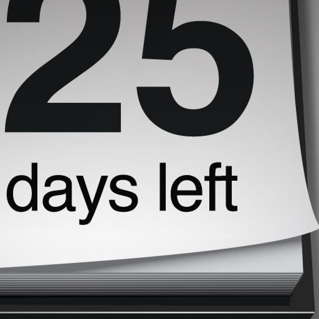 Retirement Countdown Calendar Printable Retirement Calendar