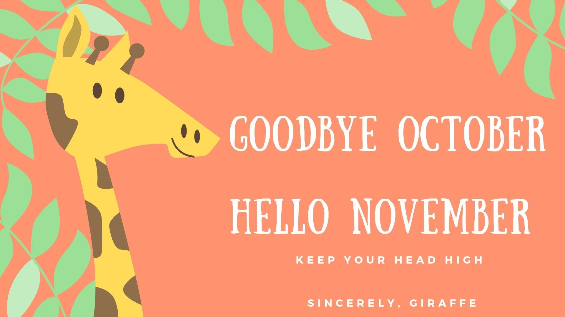 Goode October Hello November Images Quotes Wallpapers