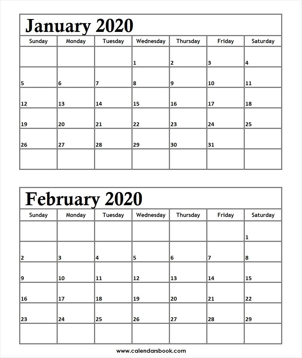 February 2020 Calendar Tumblr