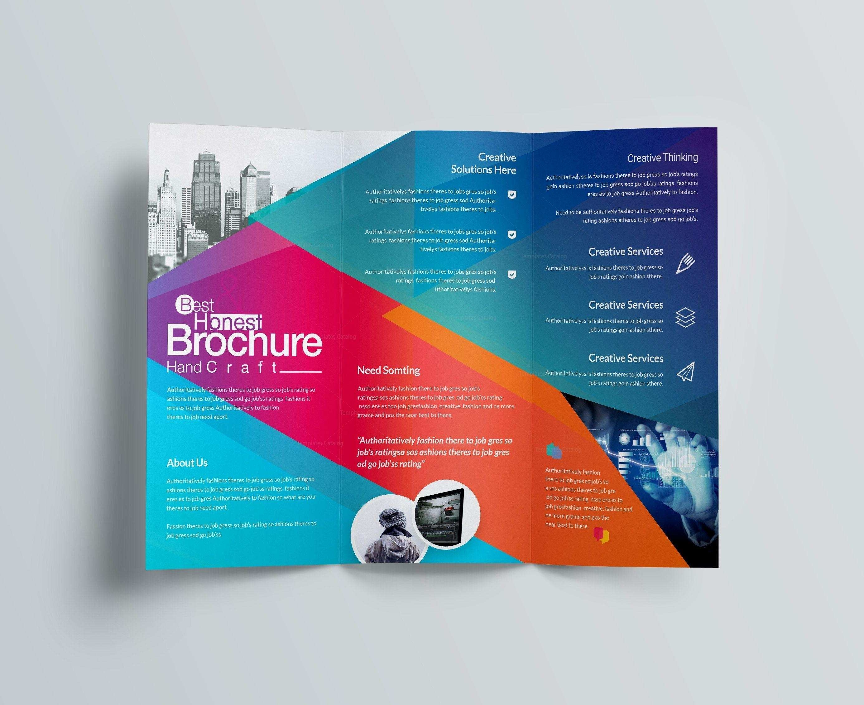 024 Light Bulb Powerpoint Template Free Download Technical Brochure