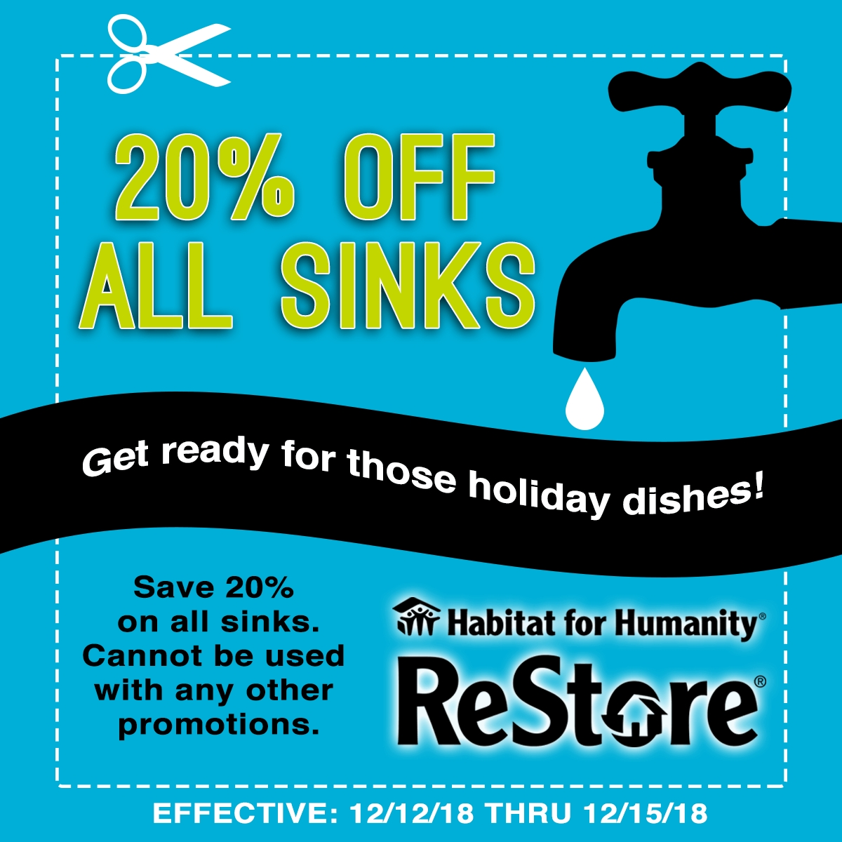 20 Off Sinks Restore Habitat For Humanity Of Summit County