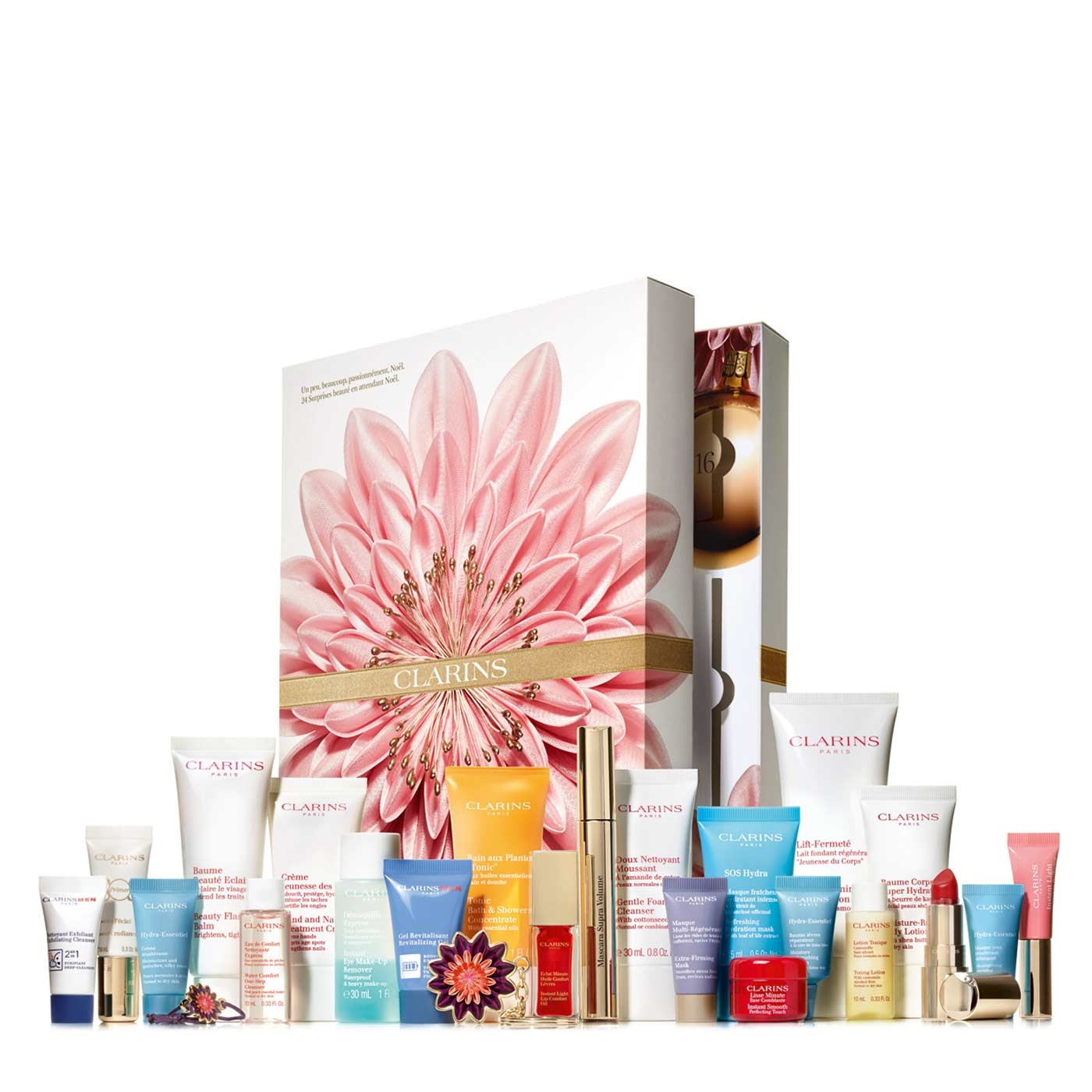 24 Days Of Clarins Advent Calendar