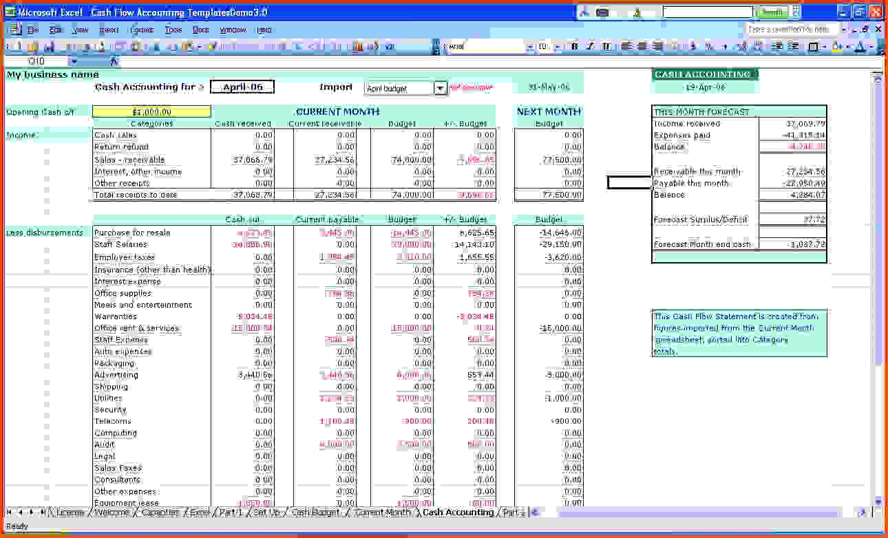 Accounting Journal Template Excel 1 Accounting Spreadsheet Templates
