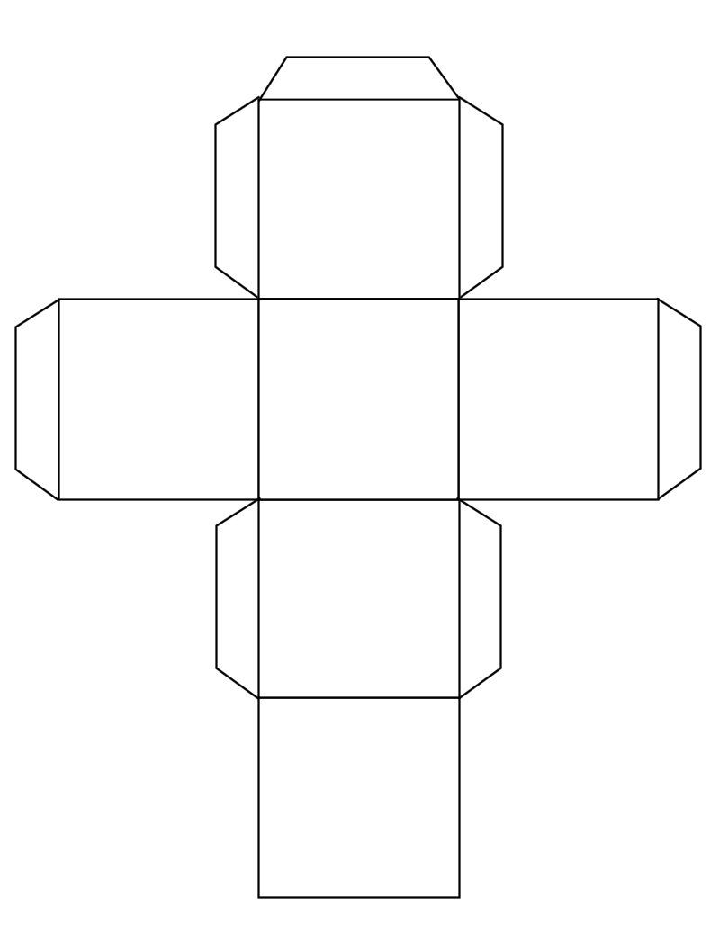 Cube Template Free To Use Templates