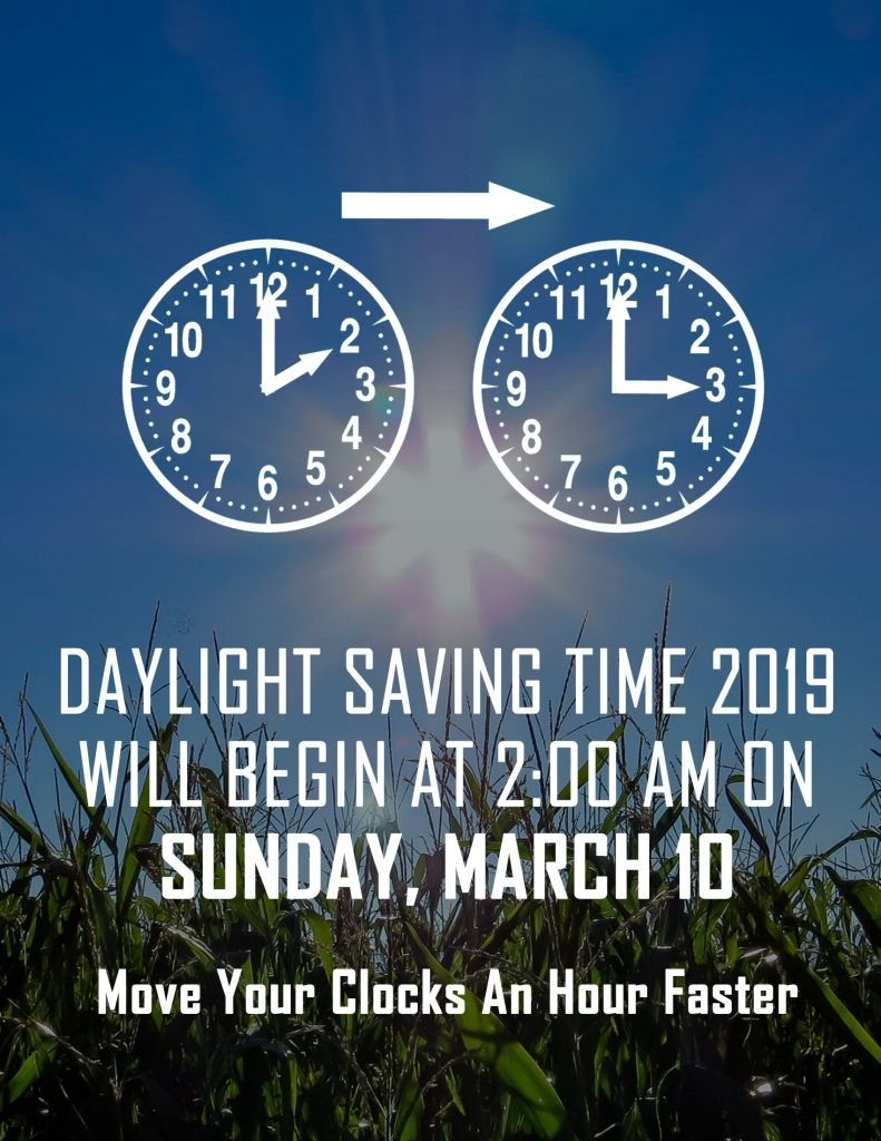 Daylight Saving Time Sunday March 10th 2019 Columbia College