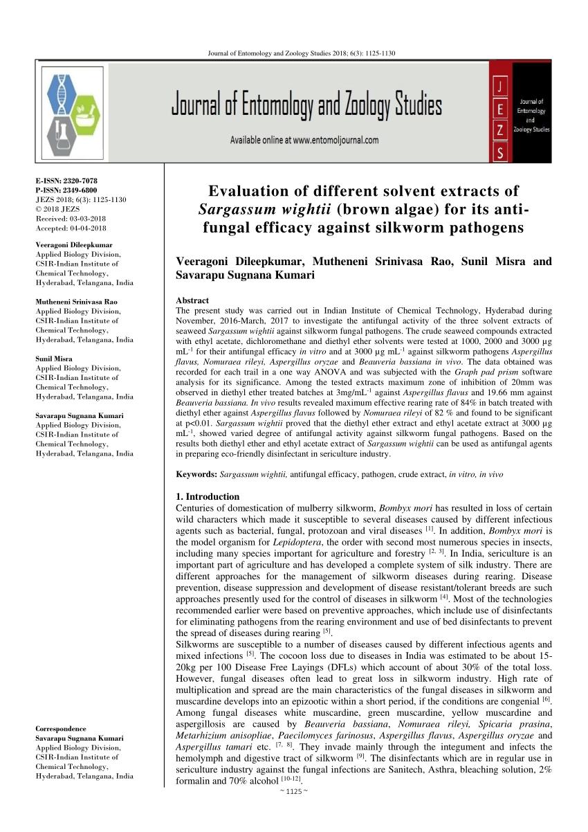 Evaluation Of Antibacterial Potential Of Seaweeds Occurring