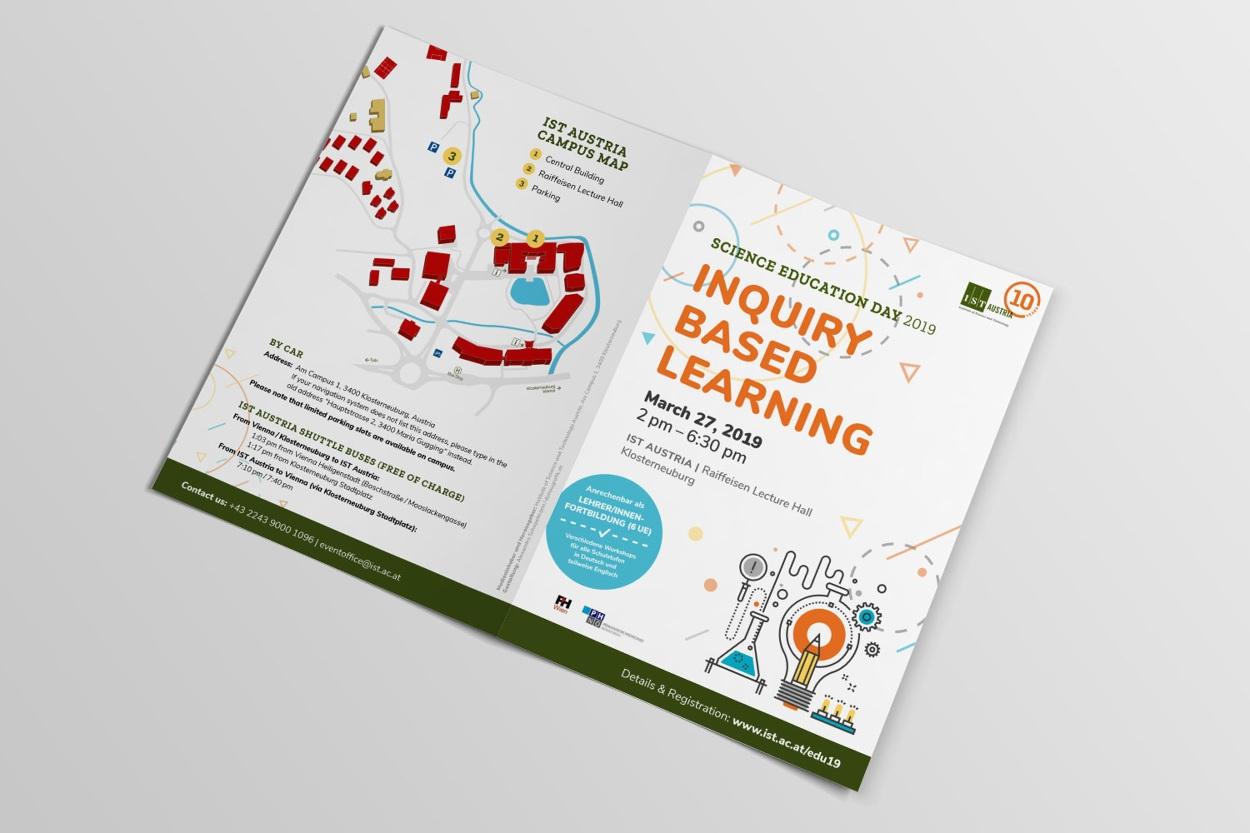 Ist Austria Science Education Day 2019 Donaugrafik Grafikdesign