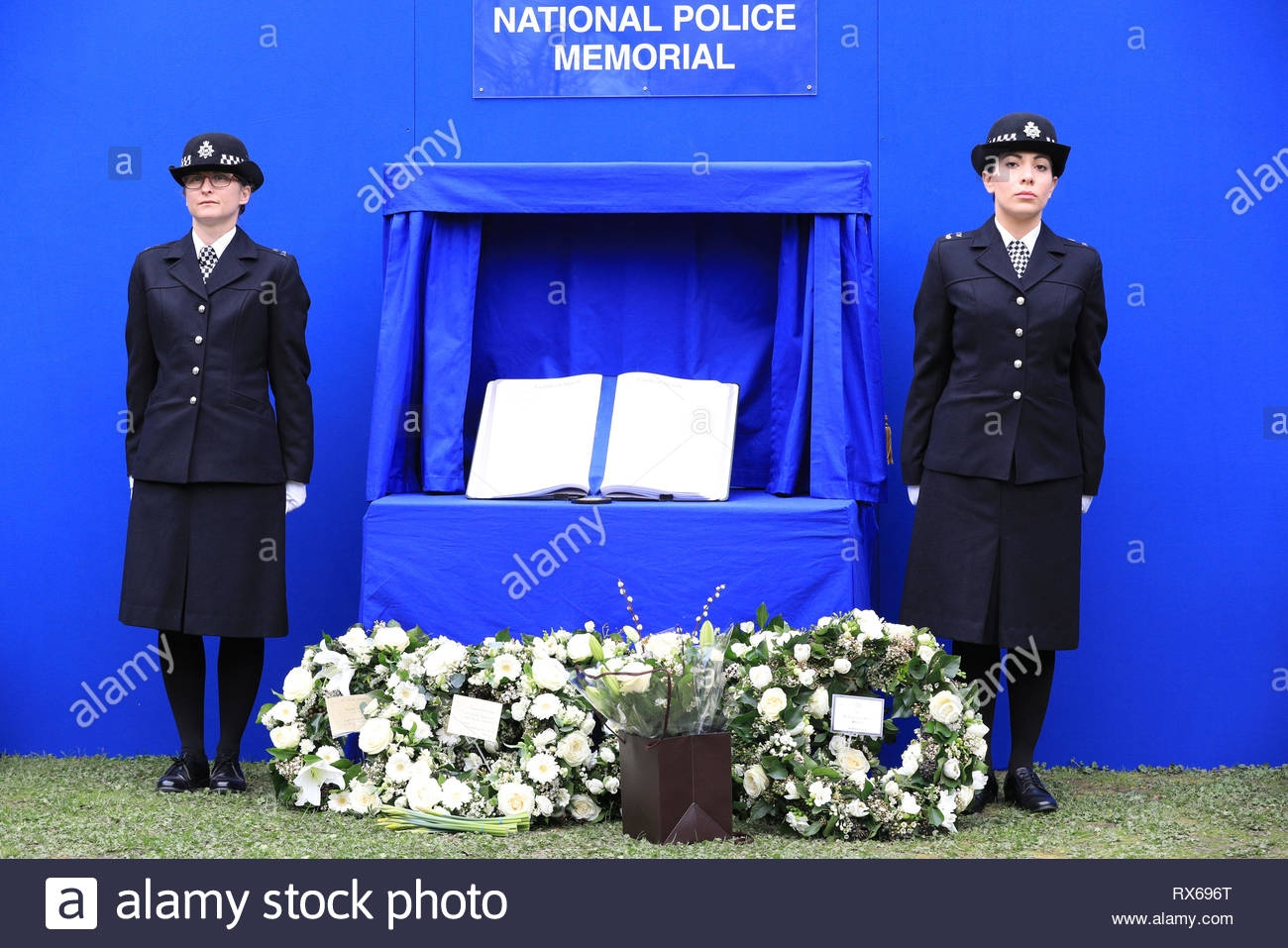 London Uk 8th Mar 2019 Commemorative Wrath At The National Police