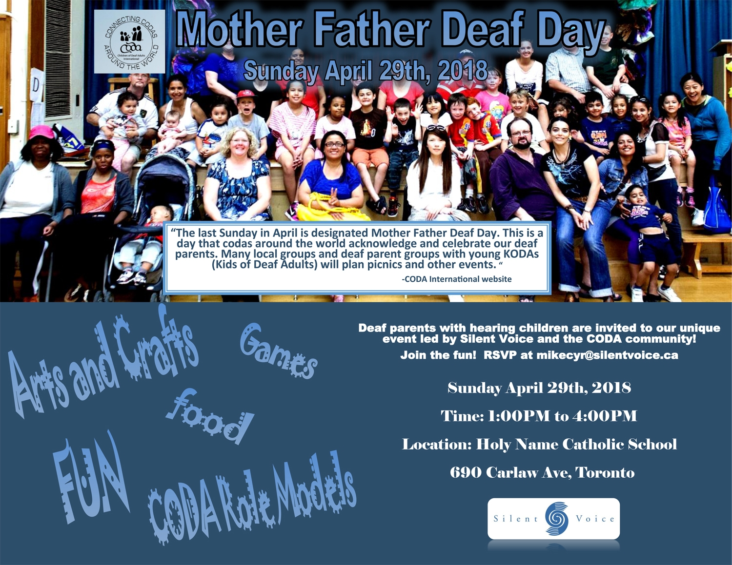 Mother Father Deaf Day Bob Rumball Organizations