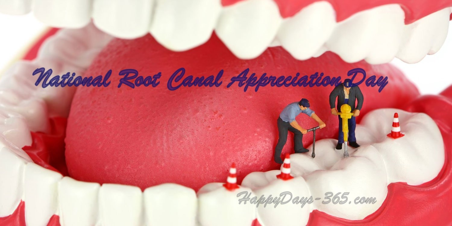 National Root Canal Appreciation Day May 9 2018 Happy Days 365