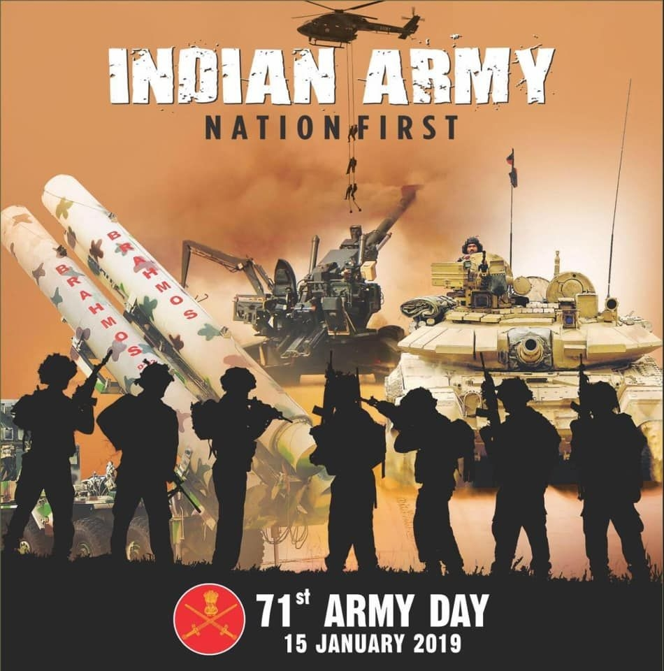 On 71st Army Day Lets Salute The Brave Hearts Who Made The Supreme