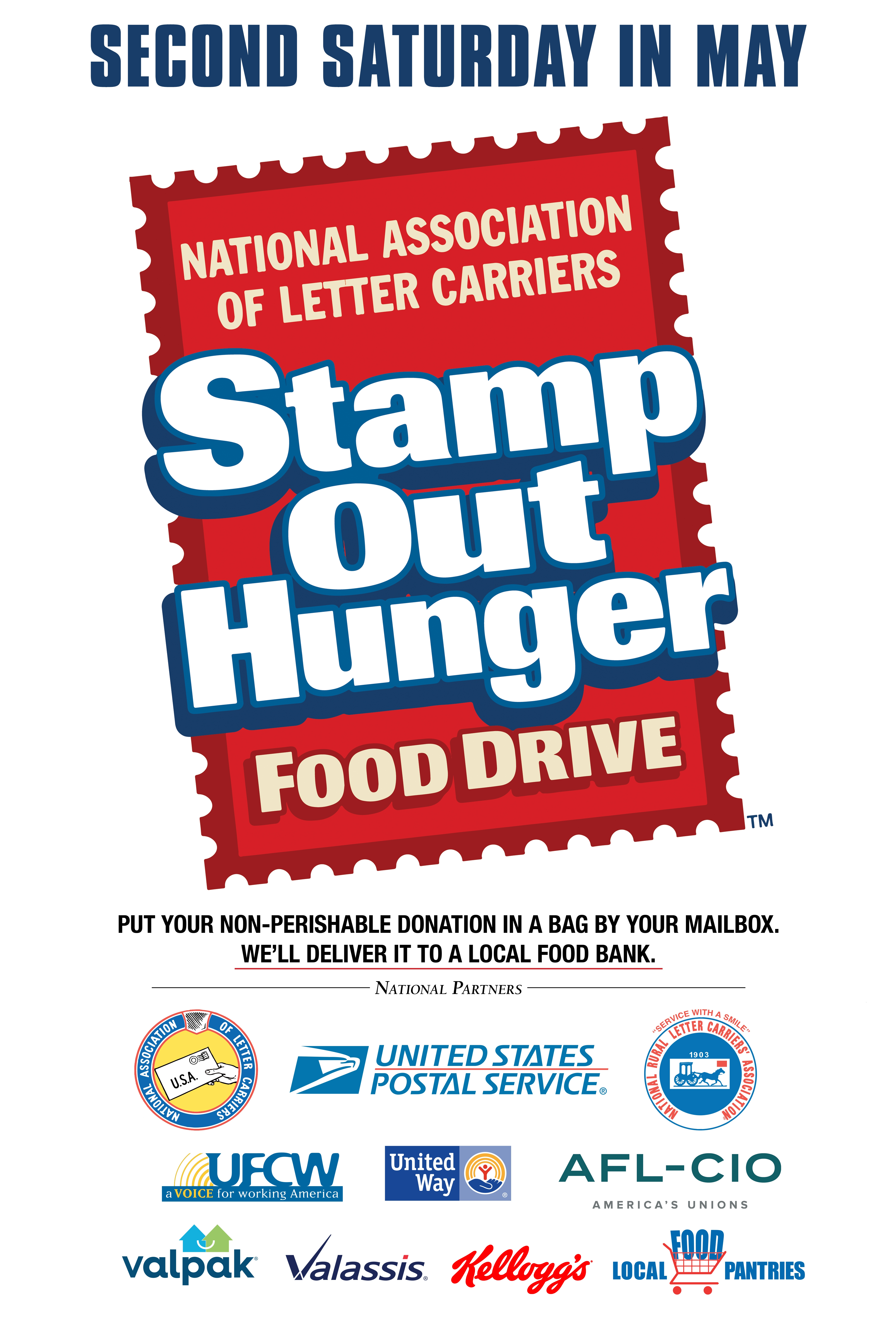 Refb Letter Carriers Stamp Out Hunger Food Drive Refb