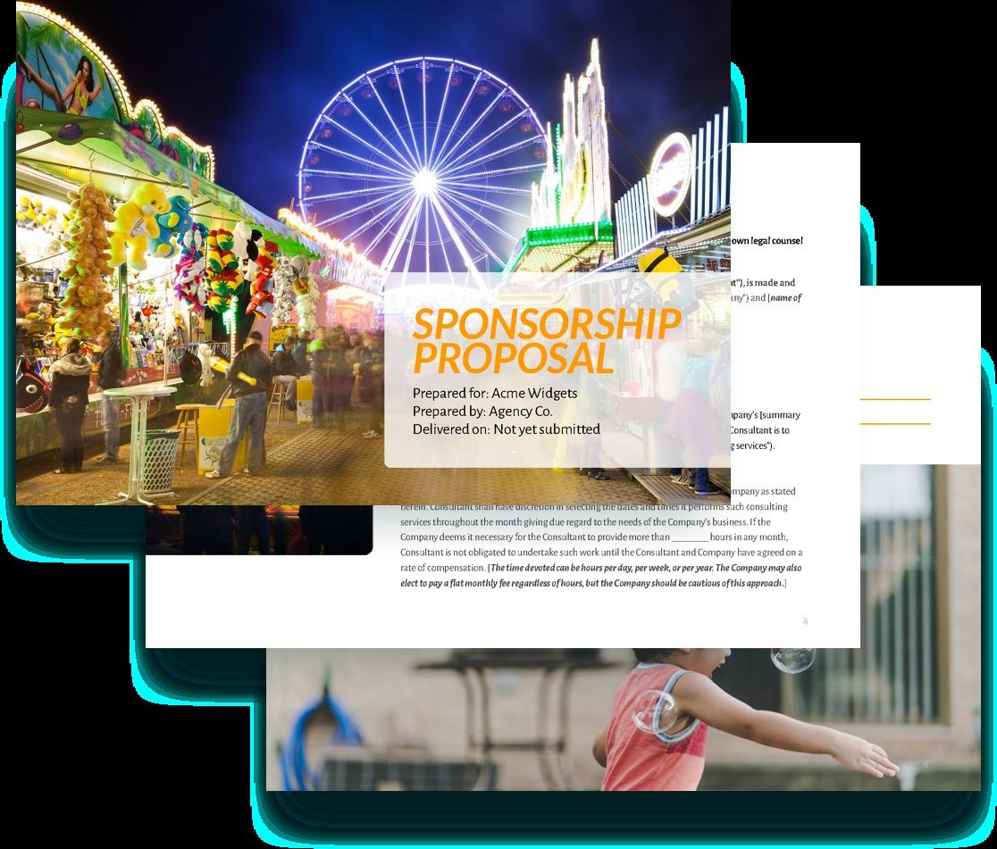 Sponsorship Proposal Template Free Sample Proposify