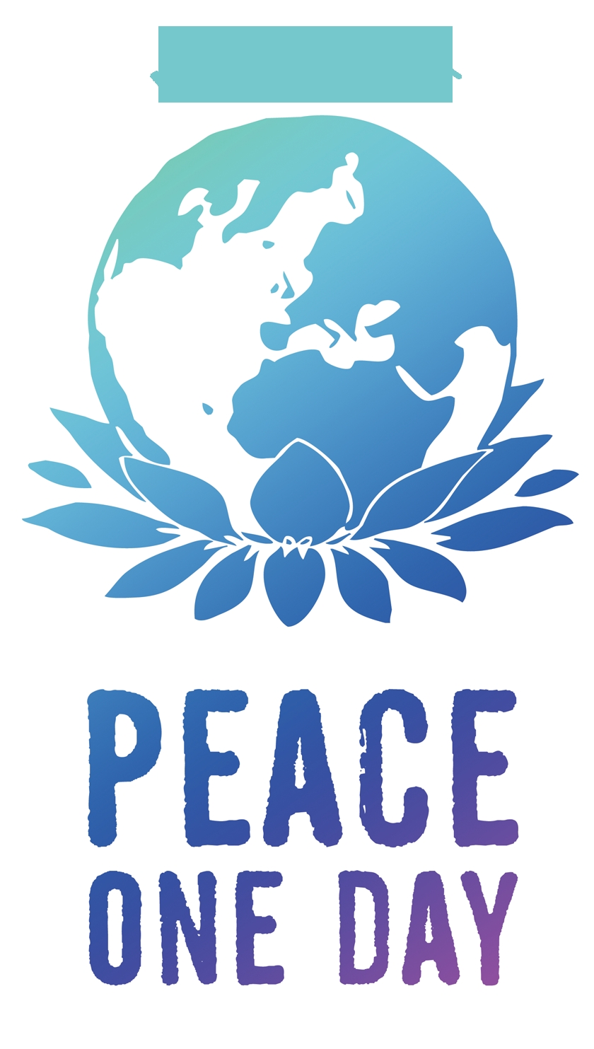 Together We Are Positively Creating Peace Beautiful Glass Water