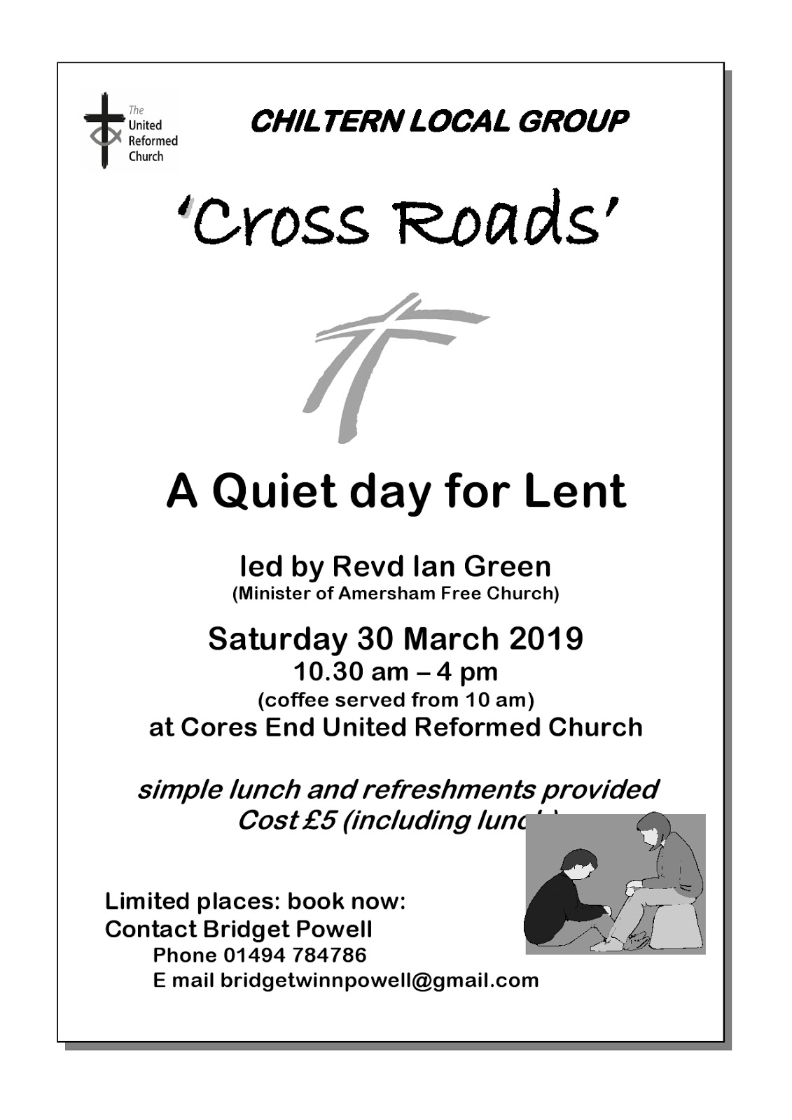 Urc Chiltern Local Area Group Lent Quiet Day 2019