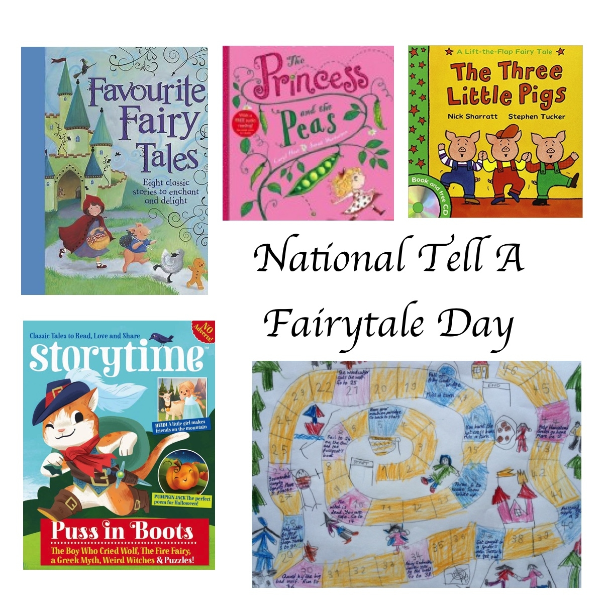 Which Stories Will You Be Telling On National Tell A Fairytale Day