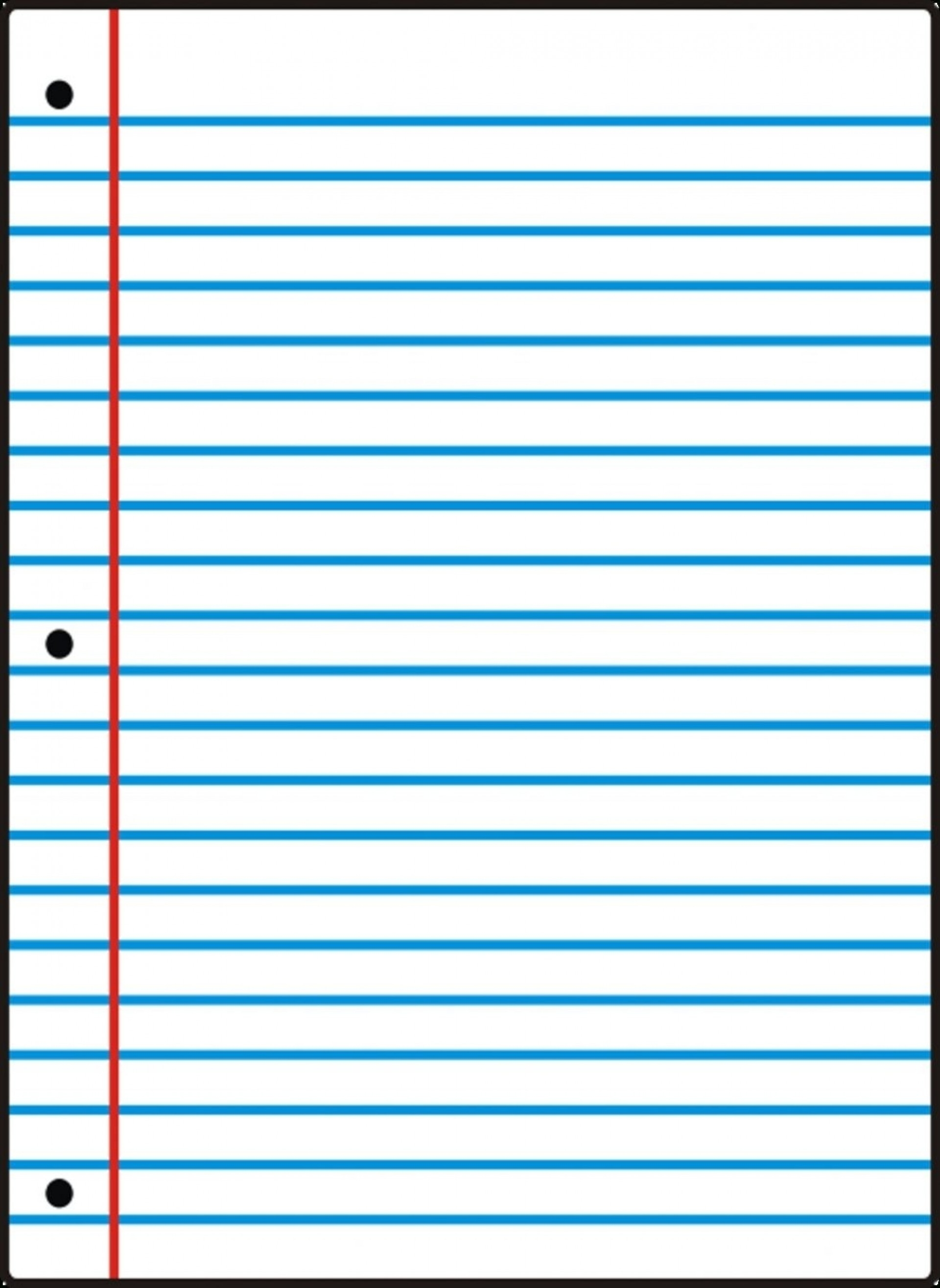 005 Template Ideas Free Printable Notebook Paper College Wide Ruled