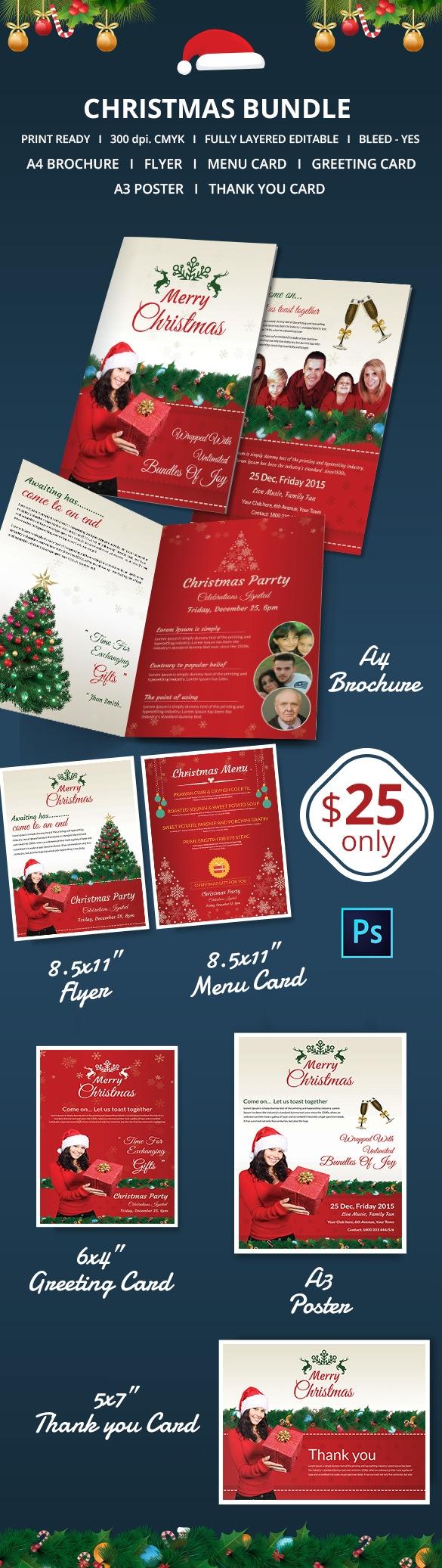 78 Christmas Flyer Templates Psd Ai Illustrator Word Free