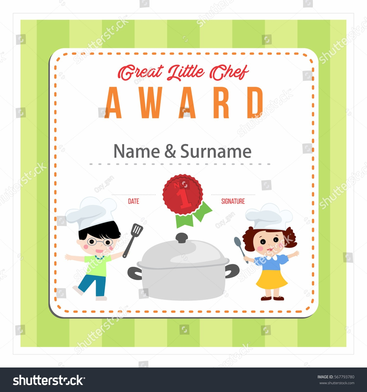 Best Ideas For Cooking Award Certificate Templates With Proposal