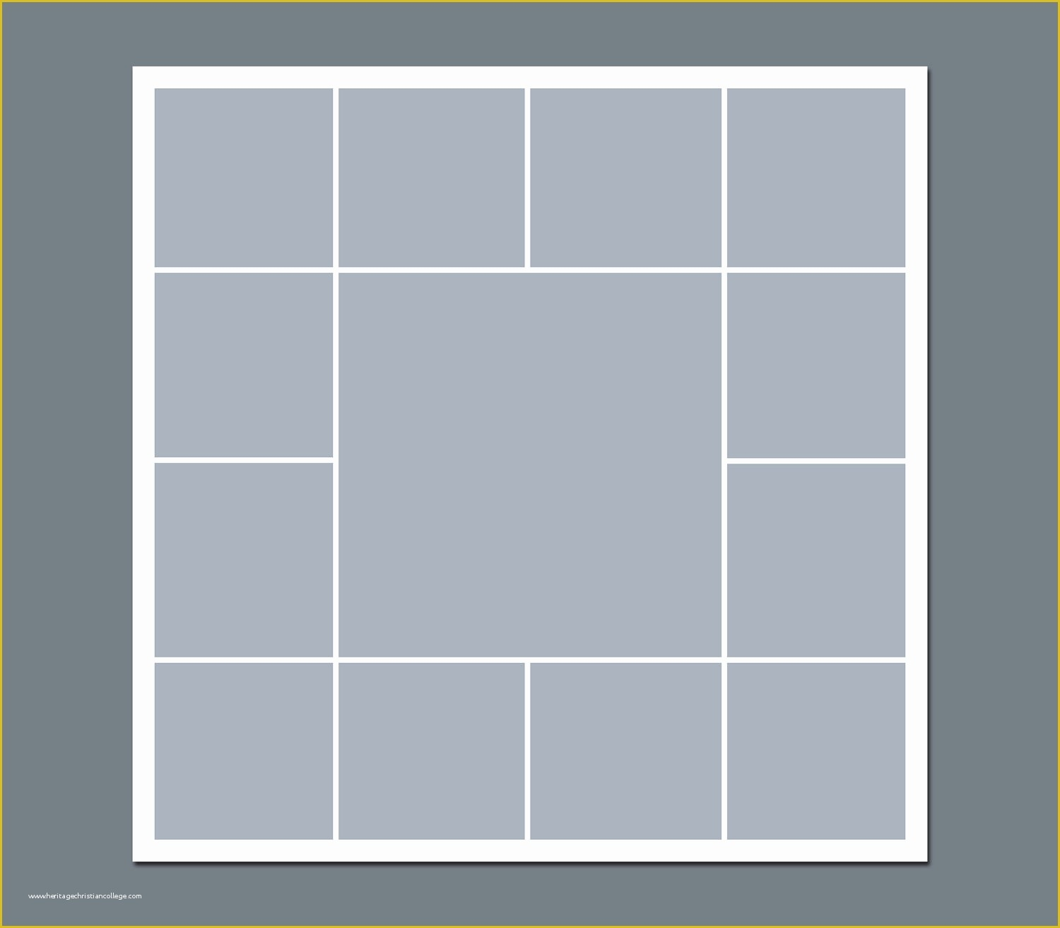Free Photo Collage Templates Of Shop Collage Template