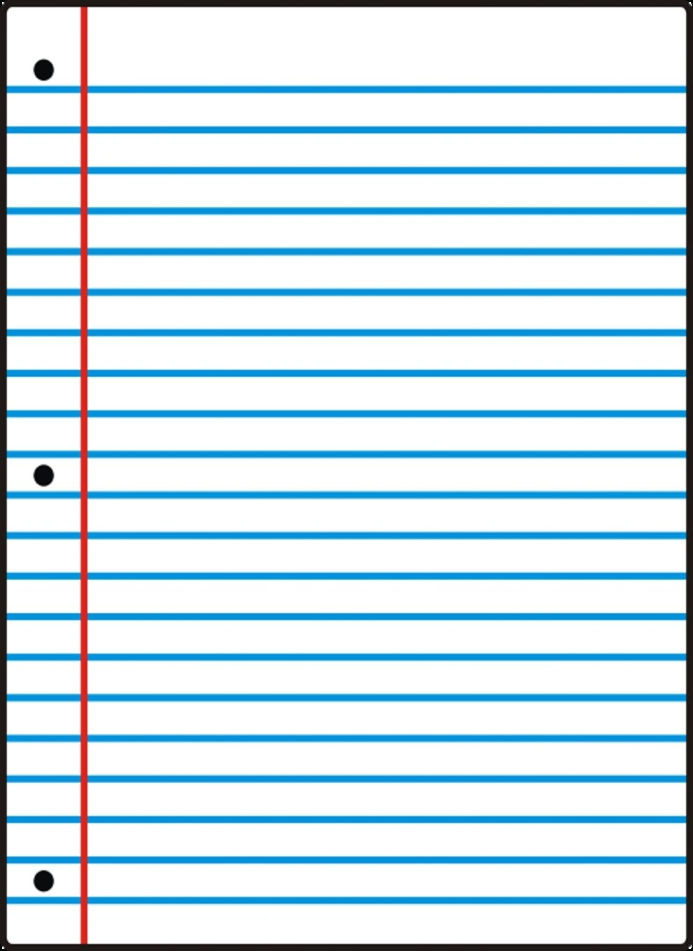 Free Printable Notebook Paper College Wide Ruled