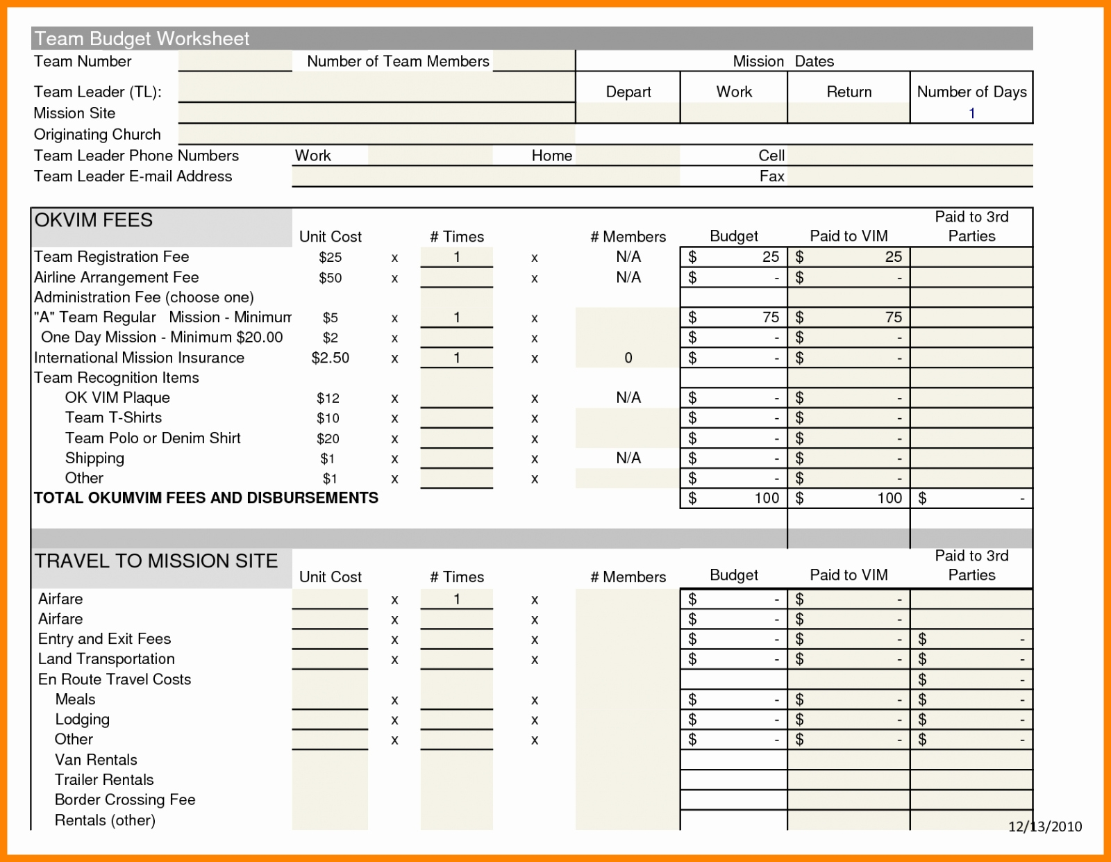Microsoft Excel Church Budget Template Elegant Church Bud Excel