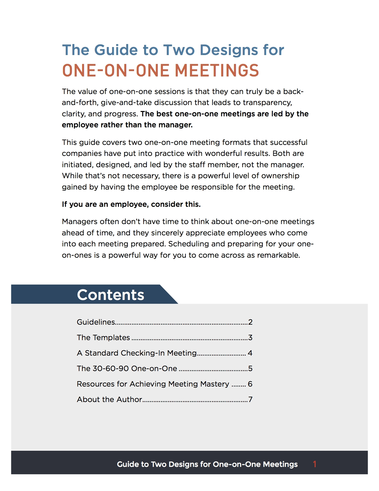 One On One Standard Checking In Meeting Lucid Meetings