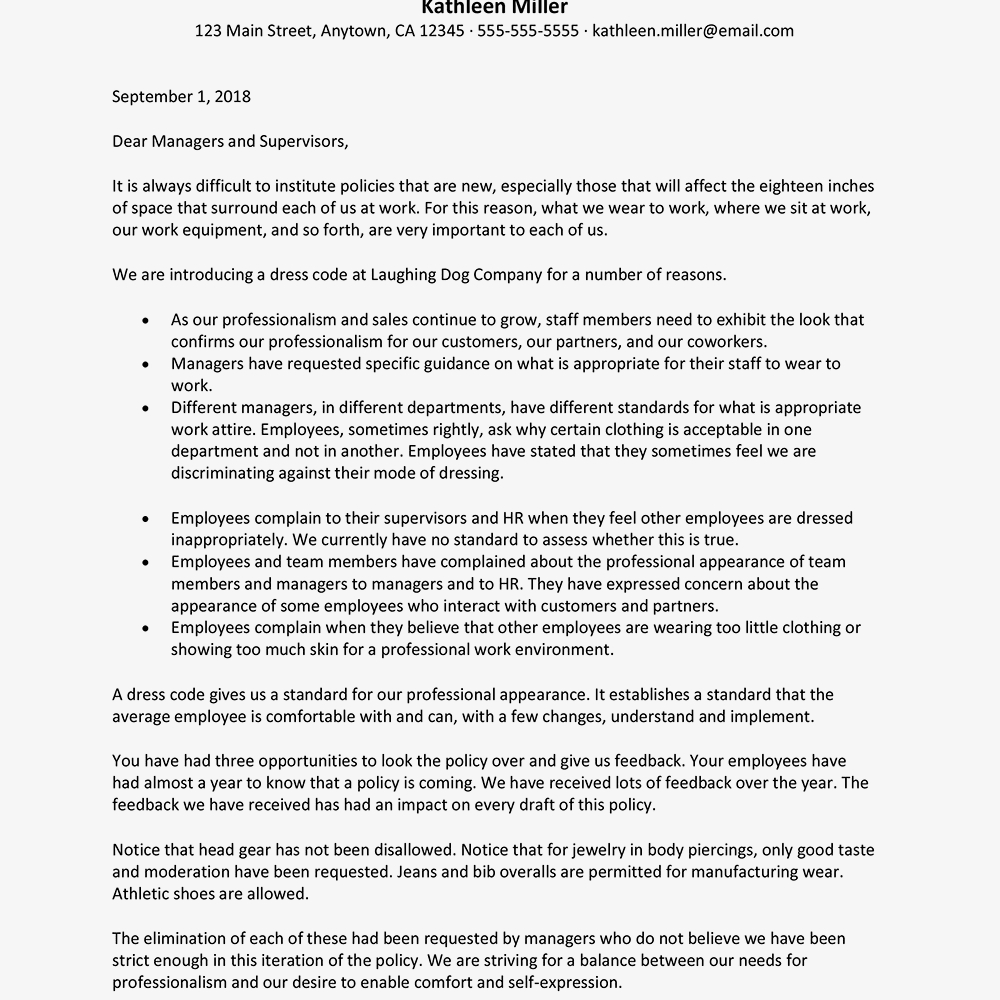 sample-letter-to-introduce-a-dress-code Teacher Welcome Letter To Parents Template on high school, first grade, 3rd grade math, day care, 5th grade, free printable, special education new, sample preschool,