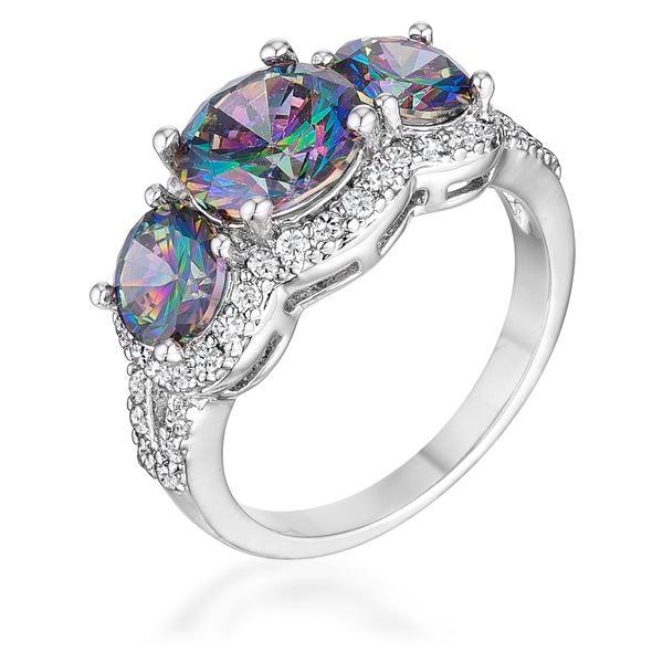 October Birthstone Ring Opal