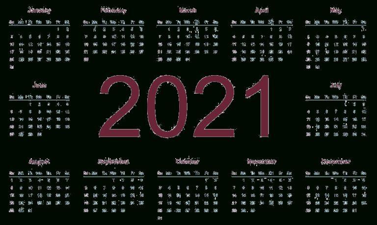 2021 Calendar Png Transparent Images   Png All