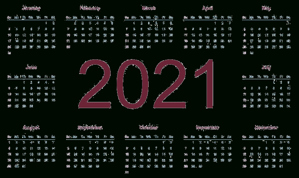 2021 Calendar Png Transparent Images | Png All