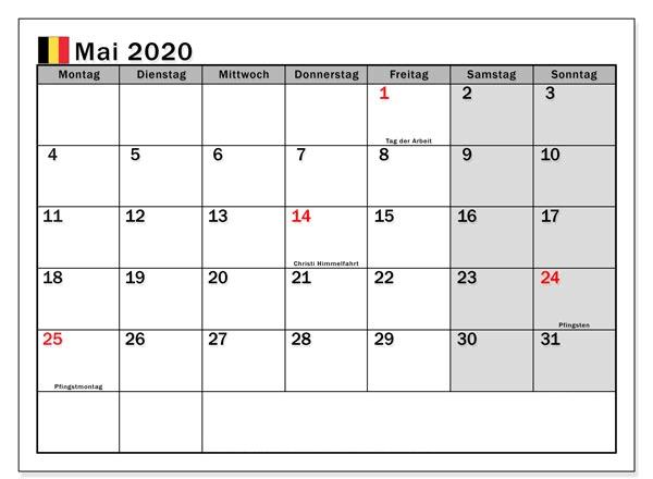 Drucken Kalender 2020 Mai   Celldwellertribe