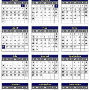 New Zealand 2021 Printable Holiday Calendar « Printable Hub