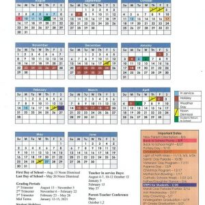 2020-2021 School Calendar - Sacred Heart Catholic School